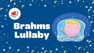 Brahms Lullaby Lyrics | Nursery Rhymes | Children Love to Sing