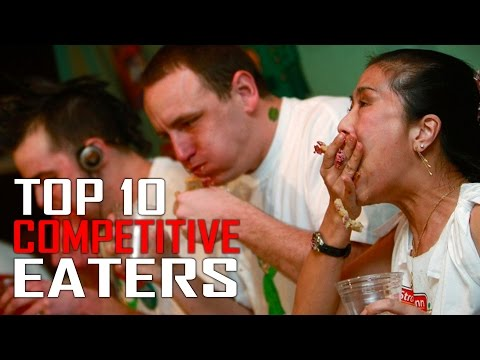 Top 10 Competitive Eaters in the World