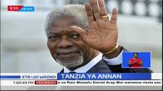 Aliyekuwa katibu mkuu wa shirika la umoja wa mataifa Kofi Annan afariki