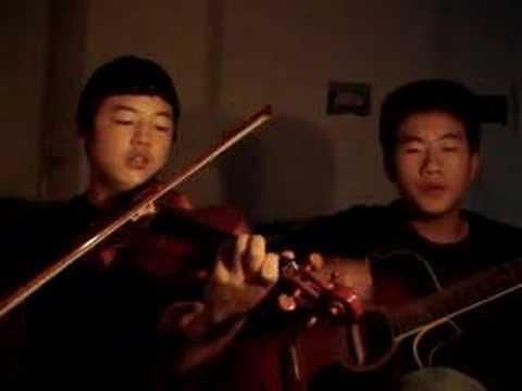 Andrew guitar Mojo violin