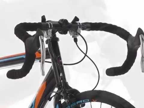 Vélo de course 28'' Piccadilly noir-orange-bleu KS Cycling M230R
