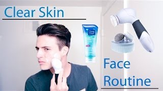 Clear Skin - My Face Routine (For Men)