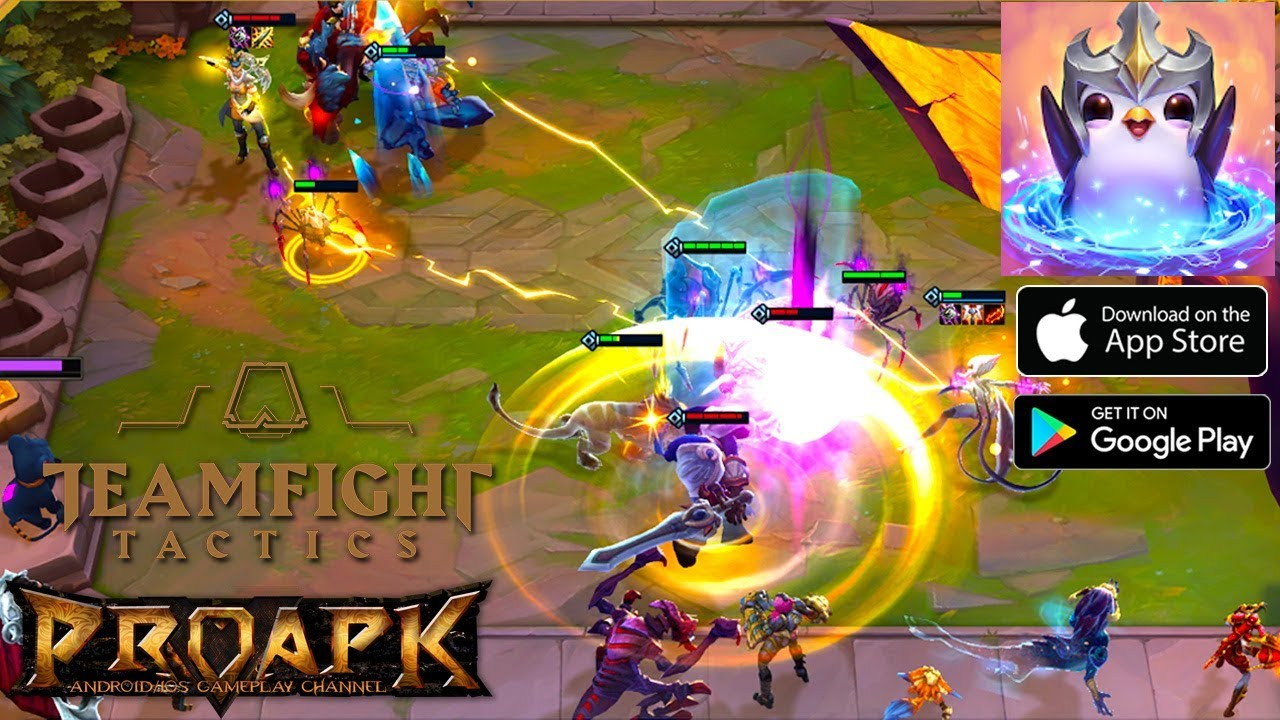 Tft Teamfight Tactics Gameplay Android Ios League Of Legends Auto Chess By Riot Games Proapk Android Ios Gameplay Download