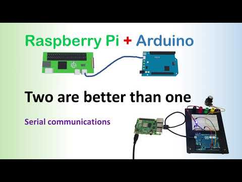 Arduino and Raspberry Pi, working together over a serial communication. Step-by-step tutorial (UART)