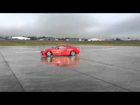 Drifttraining mit dem Toyota GT86