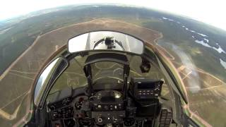 HD Cockpit View Flight MiG 29, Poland Air Force