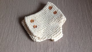 How To Loom Knit A Diaper Cover (DIY Tutorial)