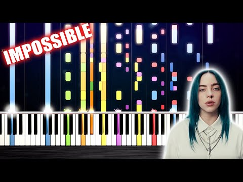 Billie Eilish - bad guy - IMPOSSIBLE Piano by PlutaX