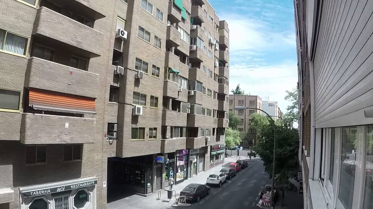 Great room with heating in shared apartment, Rios Rosas