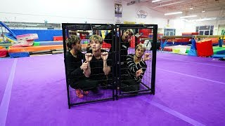 BROTHERS TRY TO ESCAPE GIANT CAGE IN LESS THAN 10 MINUTES!