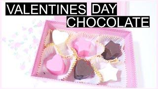 Homemade Valentines Day Chocolate