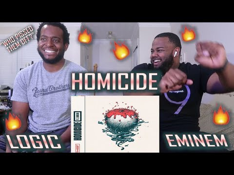 Logic - Homicide (feat. Eminem) (Official Audio) *BEST REACTION!!* | YBC ENT.