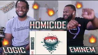 Logic   Homicide (feat. Eminem) (Official Audio) *BEST REACTION!!* | YBC ENT.