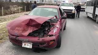 Viernes de accidentes en distintos puntos