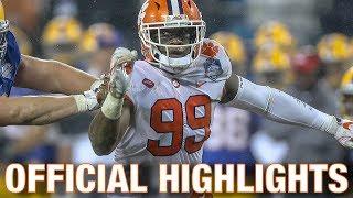 Clelin Ferrell Official Highlights | Clemson DE