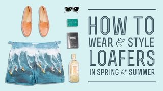 Loafers Explained How To Wear & Style Loafer Outfits In Spring & Summer With Jay Butler