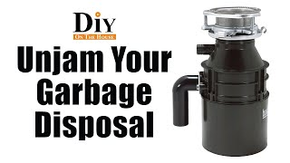 How To Repair Your Garbage Disposal | Something is Stuck in My Disposal