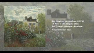 Gott fähret auf mit Jauchzen, BWV 43
