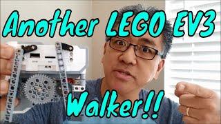 """Another Cool LEGO EV3 Walker!!"""