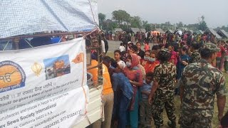 Nepal Earthquake Disaster Relief Aid by SGNDSSI