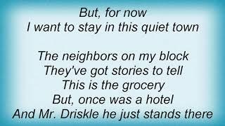 Josh Rouse - Quiet Town Lyrics