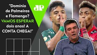 Olha a previsão que Andrés fez sobre Flamengo e Palmeiras há 2 anos