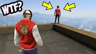 IF YOU SEE THIS IN GTA 5, LEAVE QUICK!!