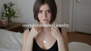Minimal Everyday Jewelry Collection | Dearly Bethany