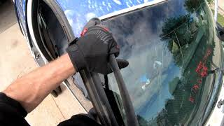 Windshield Replacement on a Ford F250