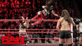 The Bella Twins & Natalya vs. The Riott Squad: Raw, Sept. 24, 2018 - Video Youtube