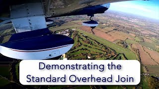 How to fly the Standard Overhead Join.