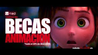 40 Becas para Estudiar Cine de Animación 3D y Videojuegos ❤️