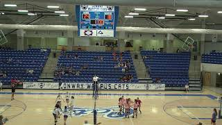 Conway Lady Cats volleyball vs FSNS
