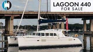 "Lagoon 440 Catamaran for Sale ""The Barley Corn"" |  Boat Walkthrough Tour"