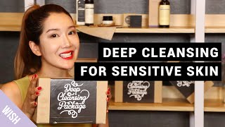 Klairs Deep Cleansing Package : Sensitive and Acne-prone skin