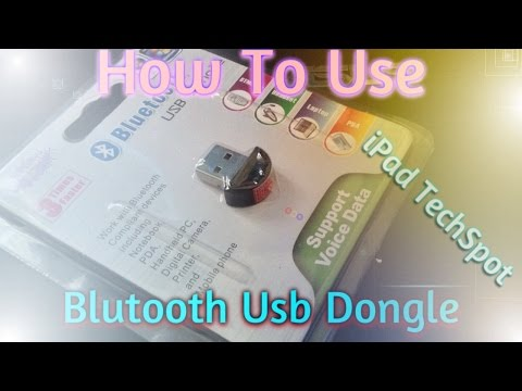 How To Use Bluetooth Usb Dongle