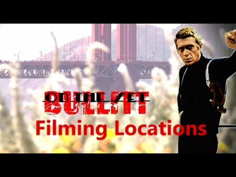 Bullitt 1968 ( FILMING LOCATION) With Shot-for-shot Remake Car Chase