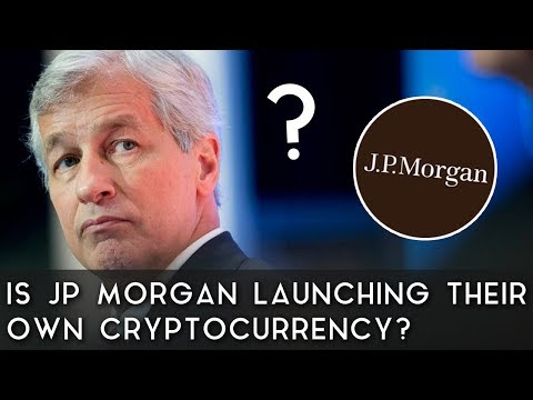 Breaking News | Is JP Morgan Launching Their Own Cryptocurrency?