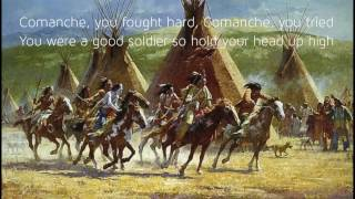 Comanche The Brave Horse - Johnny Horton