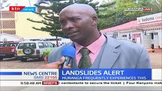 Meteorological department issues landslide alert in Muranga