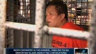 Lider at miyembro umano ng Ozamis robbery group, hiniling pang mabantayan ng CHR bago mapatay