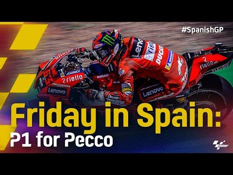 MotoGP 2021 第4戦スペインGP 金曜日のハイライト動画