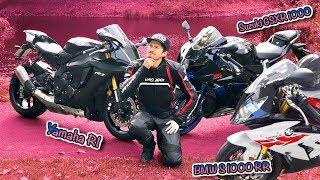 Welches Motorrad soll ich kaufen? (Yamaha R1 vs. BMW S 1000 RR vs. Suzuki GSX R 1000)