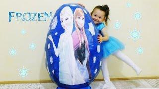 Download Video Süper Dev Frozen Sürpriz Yumurta Elsa Anna Kristoff Olaf Sven - Super Giant Surprise Egg Frozen MP3 3GP MP4