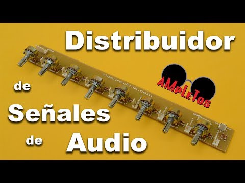 Distribuidor de señales de audio
