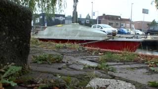 Verwaarloosde Bootjes In Maassluis