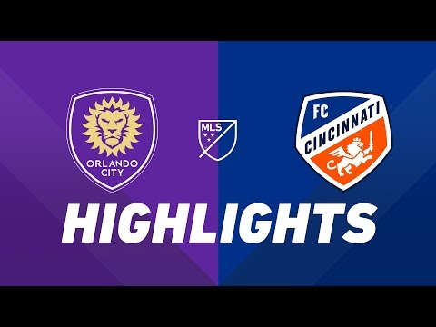 Orlando City SC Vs. FC Cincinnati | HIGHLIGHTS - May 19, 2019