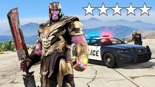 Playing as THANOS in GTA 5! (Avengers Endgame)