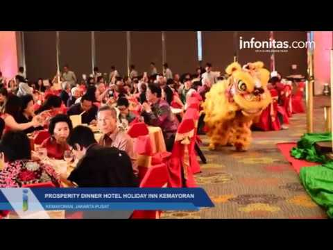Chinese New Year di Hotel Holiday Inn Kemayoran