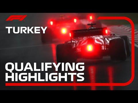 ランス・ストールがポールポジション!F1 トルコGP ウェットコンディションの予選ハイライト動画